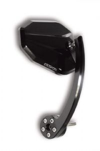 Handle bar end mirror Victory EVO For 22mm & 25mm Open Ended Bars. (Not OEM Triumph!)